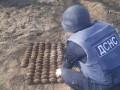 Житель Одесской области выкопал на огороде сотню гранат