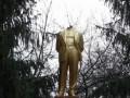Неизвестные обезглавили памятник Ленину в Винницкой области