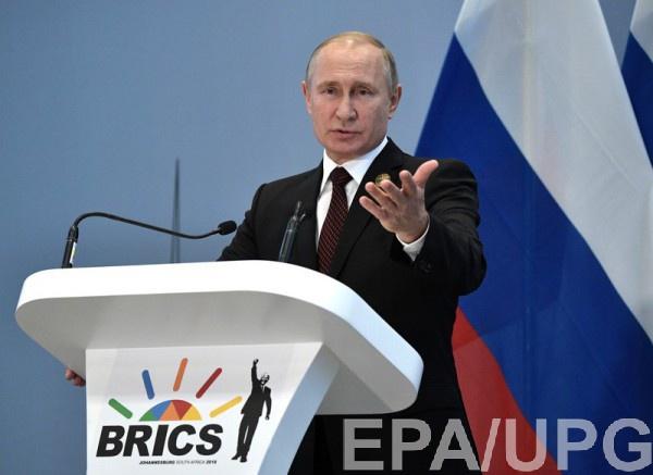 Путин воздержался от комментариев по возможному референдуму