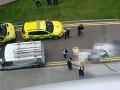 С небоскреба в Лондоне упала стеклянная панель и убила мужчину
