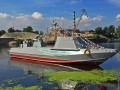 В Киеве спустили на воду первый военный катер для ВМС Украины