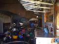 В Киеве на Демеевском рынке произошел пожар