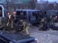 Появилось видео задержания банды грабителей ювелирок