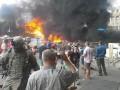 На Майдане вновь горят автомобильные покрышки (фото)