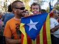 Жители Каталонии устроили протест
