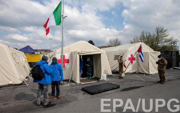 В Италии ждут, когда распространение вируса начнет снижаться