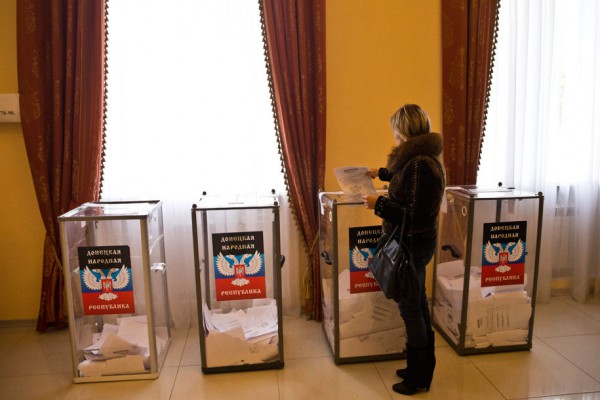 """2 ноября на Донбассе проходят """"выборы"""" сепаратистов"""
