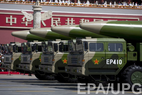 Китай разместил на границе с Россией баллистические ракеты