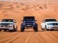 Битва в пустыне: Mercedes-Benz G500 vs Toyota Land Cruiser vs Nissan Patrol