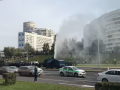 Протестующие минчане сломали водомет
