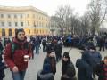 Одесский юмор: Фальшивый митинг за выдуманного кандидата в президенты