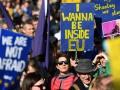 В Лондоне проходят массовые акции протеста против выхода из ЕС