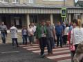 Протестующие блокируют трассу международного значения под Тернополем
