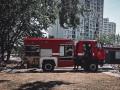 В Киеве произошел пожар в кафе – видео