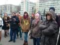 Под Киевским облсоветом митингуют за восстановление кинотеатра Жовтень