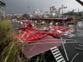 Около миллиона китайцев пострадали от мощного тайфуна Мэги