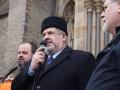 Суд над Меджлисом: Российские оккупанты пригнали БТРы