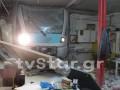 В Греции поезд врезался в железнодорожную станцию