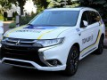 В Мукачево разбился полицейский Mitsubishi