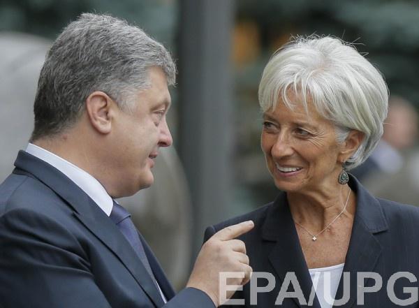 Международный валютый фонд подтвердил очередной транш