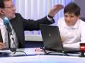 Испанский премьер дал затрещину сыну в прямом эфире