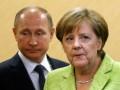 Меркель и Путин обсудили транзит газа Украиной