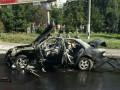 Появилось видео взрыва автомобиля в Соломенском районе Киева