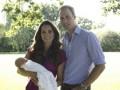 В Британии представлены первые официальные фото принца Джорджа