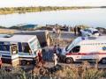 На Днепропетровщине в автобусе на мосту пострадало восемь человек