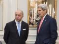 Джон Керри и глава МИД Франции обсудят ситуацию в Донбассе