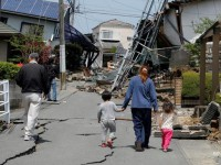 В Японии произошло новое землетрясение