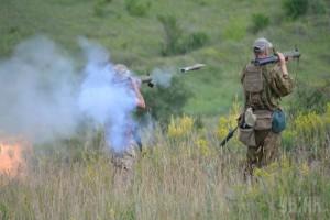 На Донбассе за сутки ранены 4 украинских военных