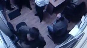 Убийство в караване: видео из комнаты охраны