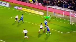 Космический гол из Чемпионшипа в матче Дерби - Уиган