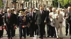Участь Президента України Віктора Януковича в урочистих заходах з нагоди 66-ї річниці Перемоги у Великій Вітчизняній війні, м. Київ, 9 травня 2011 року