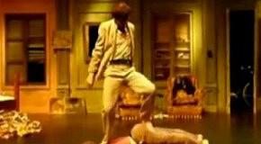 Наспинные танцы