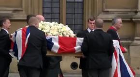 Похороны Маргарет Тэтчер: церемония прощания