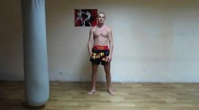 Тайский бокс (муай тай)   Техника ударов локтями и коленами   Урок №3-Muay Thai elbows and knees