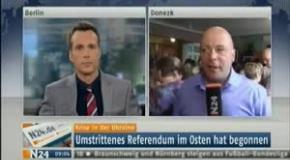 Донецк Немецкий журналист поражён тем  как идёт голосование 11 05 2014