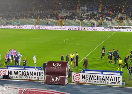 ВИталии из-за землетрясения был остановлен футбольный матч
