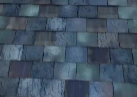 Close up of the solar roof<br /> 0:11