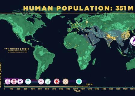 Ученые наглядно показали, почему Земле угрожает перенаселение