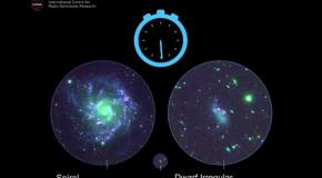Дисковые галактики точны как часы