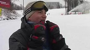 Ранковий сноубординг