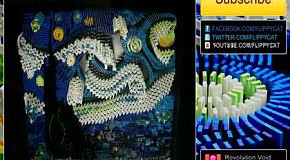 Звездная ночь Ван Гога из домино