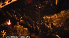 Майдан в окружении Беркута