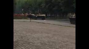 Передвижение военной техники в России: Ростовская область, Гуково