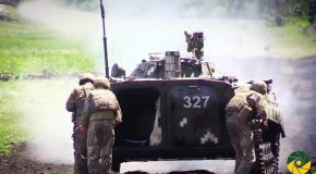 В ООС показали боеготовность украинских танков