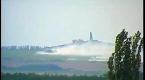 Саур-Могила под Донецком, 1 июля: взрывы близ кургана