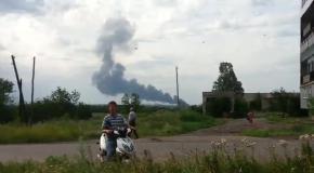 На Донбассе сбит пассажирский  Боинг 777, есть жертвы  (17.07)